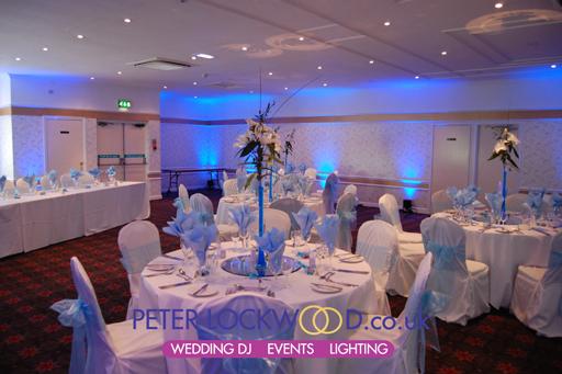 Wedding Mood And Uplighting In The Broadfield Hotel Lighting
