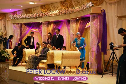 nawaab restaurant manchester wedding lighting