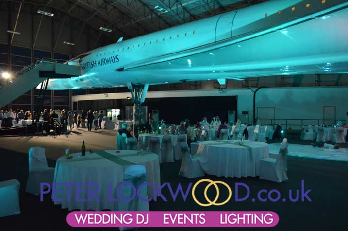 Concord Manchester Airport Lighting Hire