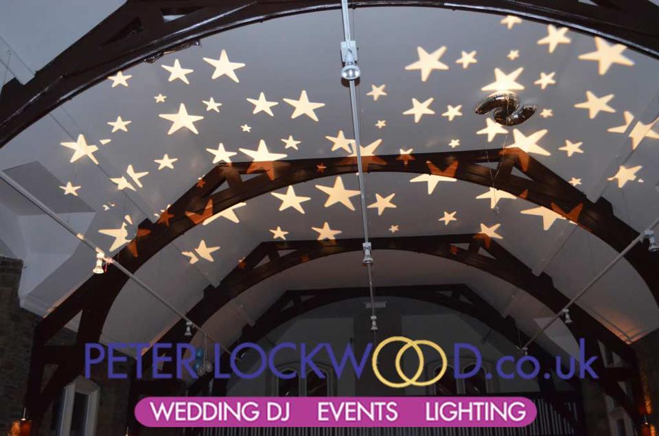 Star Projection On Ceilings Award Evenings Weddings