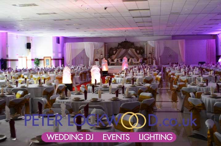 3d Center Bolton Asian Wedding Hall Lighting Manchester