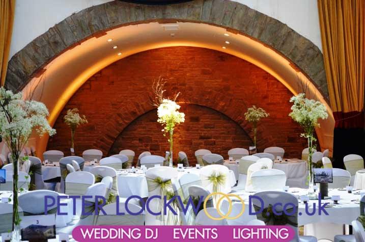 Shrigley Hall Wedding Lighting Hire