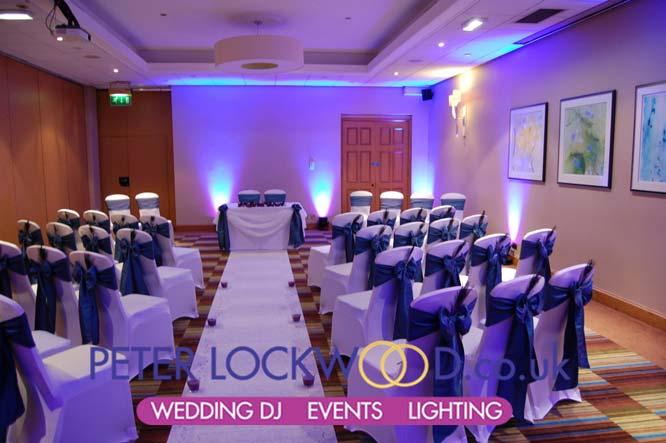 victoria amp albert hotel manchester marriott wedding lighting