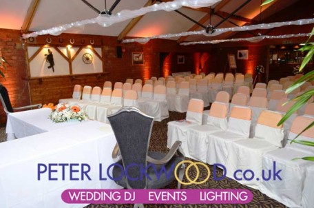 Stables Country Club Wedding Lighting Boholt Hotel