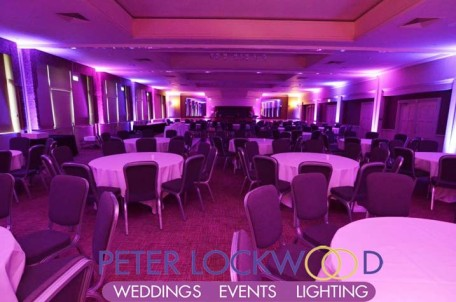 The Mere Golf Resort Amp Spa Uplighting By Peter Lockwood Events