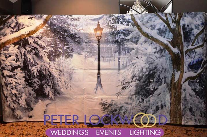 Winter Wonderland Wedding Flowers Mythe Barn